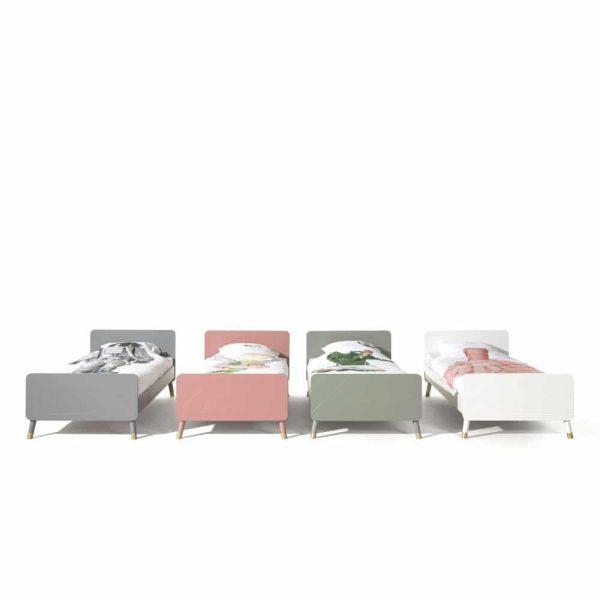 lit enfant en bois billy 90 x 200 cm blanc satin vipack (4)