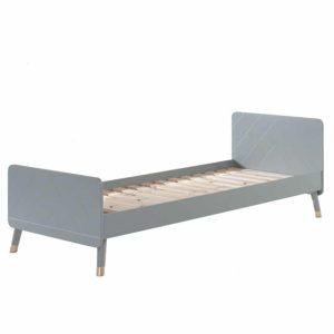 lit enfant en bois billy 90 x 200 cm gris timeless vipack (9)