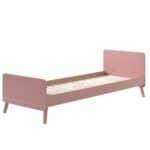 lit enfant en bois billy 90 x 200 cm rose terra vipack (10)