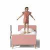 lit enfant en bois billy 90 x 200 cm rose terra vipack (7)