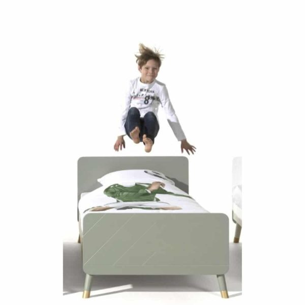 lit enfant en bois billy 90 x 200 cm vert olive vipack (7)