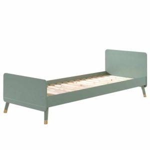 lit enfant en bois billy 90 x 200 cm vert olive vipack (9)