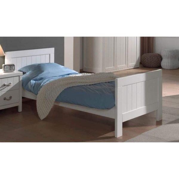 lit enfant en bois lewis 90 x 200 cm blanc vipack (9)