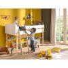 lit mezzanine kiddy 90 x 200 cm blanc & bois – vipack (2)