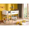 lit mezzanine kiddy 90 x 200 cm blanc & bois – vipack (3)