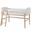 lit mezzanine kiddy 90 x 200 cm blanc & bois – vipack (7)