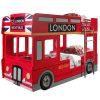 lit superposé london bus 90 x 200 cm rouge vipack (1)