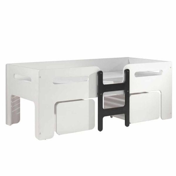 lit mi hauteur luca 90 x 200 cm blanc – vipack (4)
