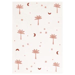 Tapis enfant petits palmiers Sienna - Nattiot