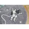 tapis rond coton astronaute & fusée (5)
