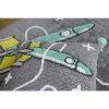 tapis rond coton astronaute & fusée (8)