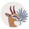 tapis rond coton gazelle lilipinso (1)