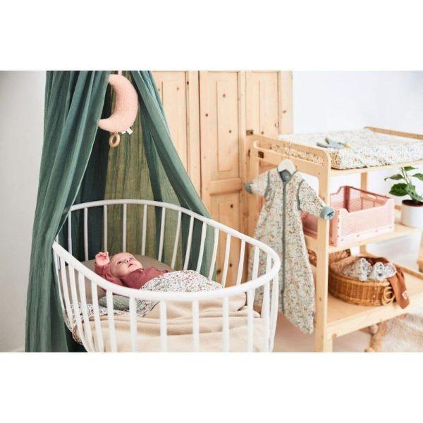 couverture basic knit nougat jollein (3)