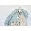 couverture basic knit nougat jollein (4)