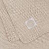couverture basic knit nougat jollein (7)