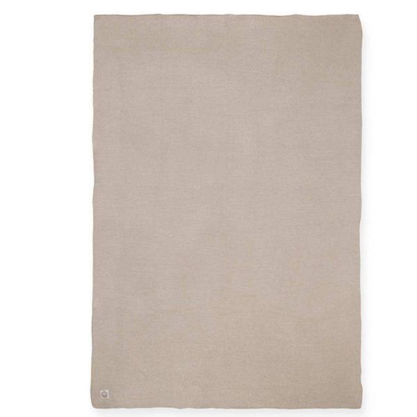 couverture basic knit nougat jollein (8)