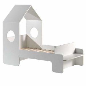 lit cabane casami 70 x 140 cm blanc – vipack (1)