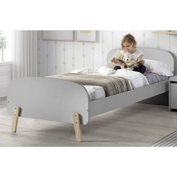 lit enfant en bois kiddy 90 x 200 cm gris vipack (3)