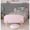 lit enfant en bois kiddy 90 x 200 cm vieux rose vipack (2)