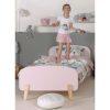 lit enfant en bois kiddy 90 x 200 cm vieux rose vipack (3)