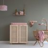 mobile musical en bois ocean pink little dutch (2)