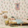papier peint fleur summer pink (4)