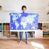 poster éducatif + 200 stickers drapeaux du monde poppik (4)