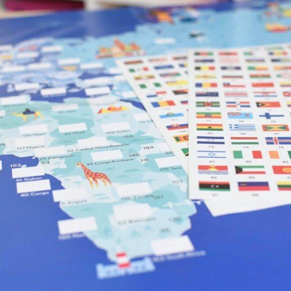 poster éducatif + 200 stickers drapeaux du monde poppik (7)