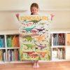 poster éducatif + 32 stickers dinosaures poppik (9)