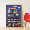 poster éducatif + 44 stickers vroum ! les véhicules poppik (13)