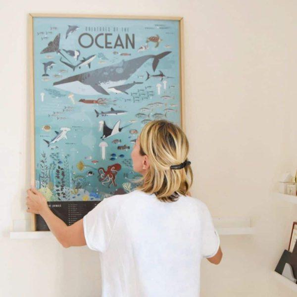poster éducatif + 59 stickers océans poppik (2)