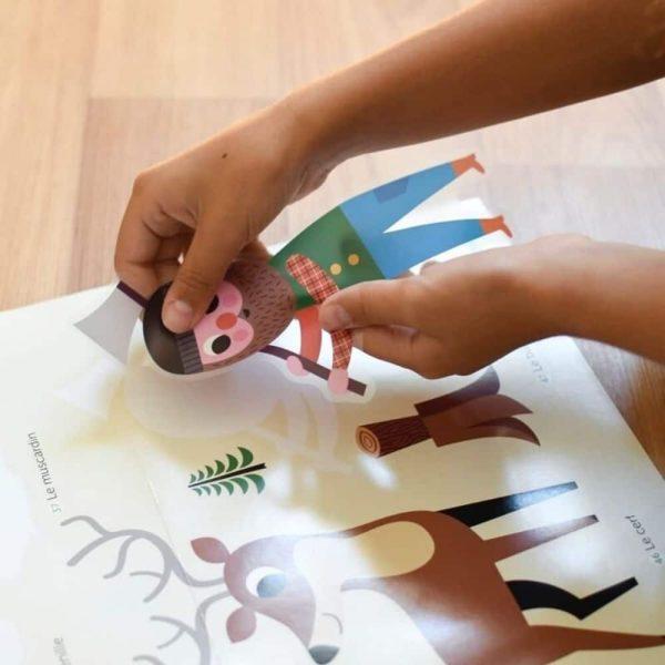 poster éducatif + 60 stickers dans la forêt poppik (2)