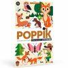poster éducatif + 60 stickers dans la forêt poppik (4)