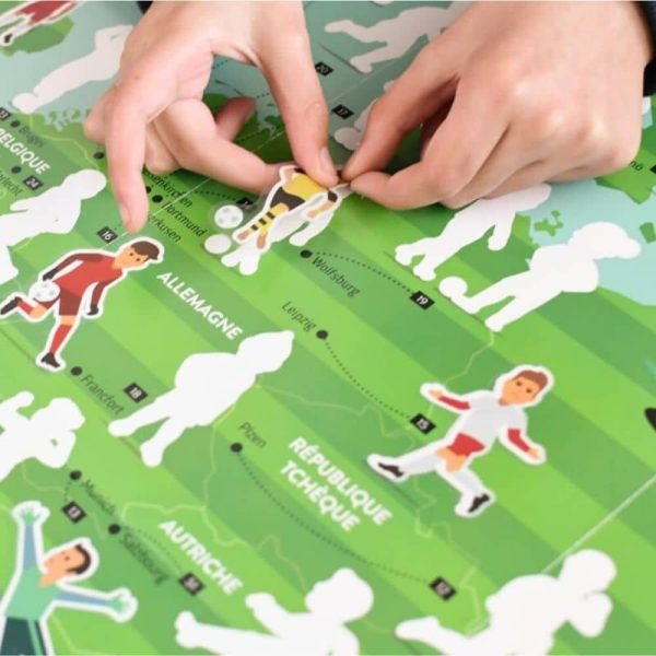 poster éducatif + 60 stickers le football poppik (10)