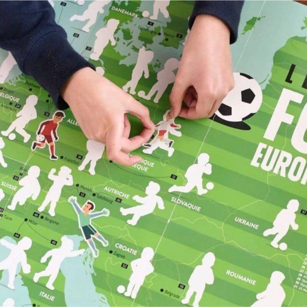 poster éducatif + 60 stickers le football poppik (11)