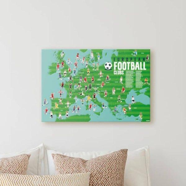 poster éducatif + 60 stickers le football poppik (13)