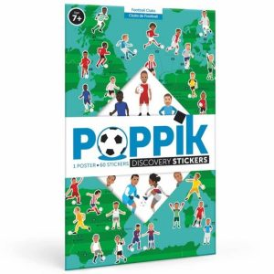 poster éducatif + 60 stickers le football poppik (15)