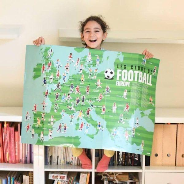 poster éducatif + 60 stickers le football poppik (3)