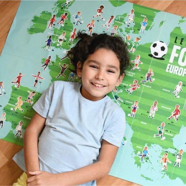 poster éducatif + 60 stickers le football poppik (4)