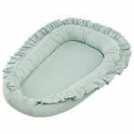 réducteur de lit simply glamour à volants menthe (1)