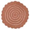 Tapis crochet Alma Ambre - Nattiot