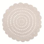 Tapis crochet Alma Ecru - Nattiot