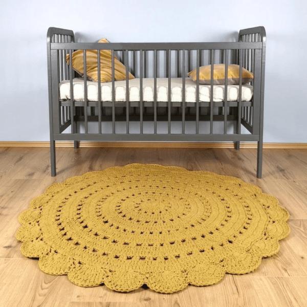 Tapis crochet Alma Mangue - Nattiot
