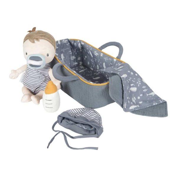 set couffin et poupée bébé jim little dutch (15)