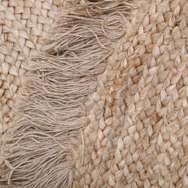tapis jute avec franges terra nattiot (2)