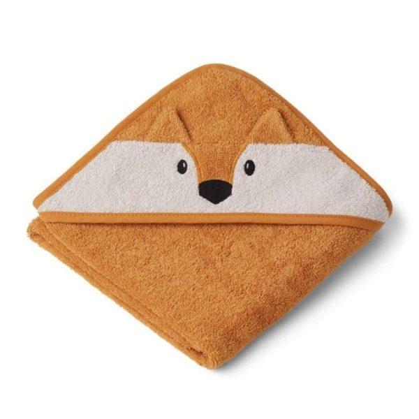 cape de bain albert fox moutarde liewood