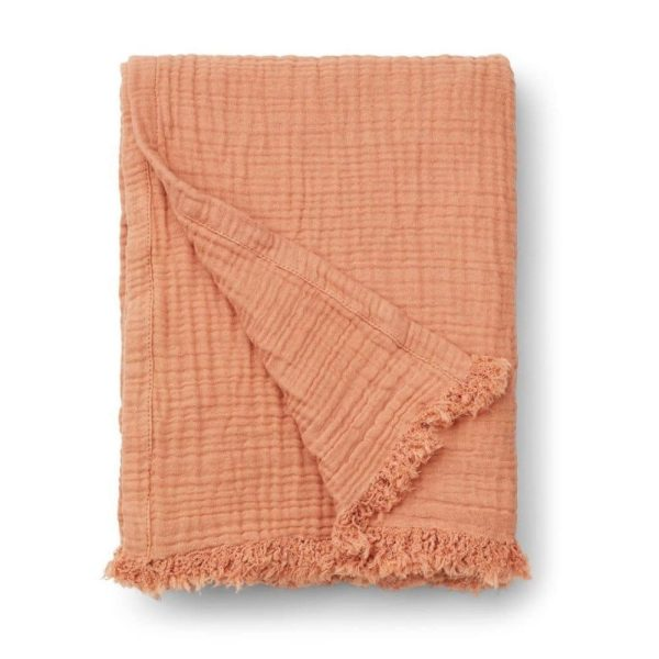 couverture mousseline magda tuscany rose liewood