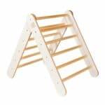 Échelle en bois montessori pour enfants blanc meowbaby (11)