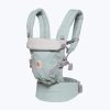 porte bébé adapt menthe pois argenté ergobaby (3)