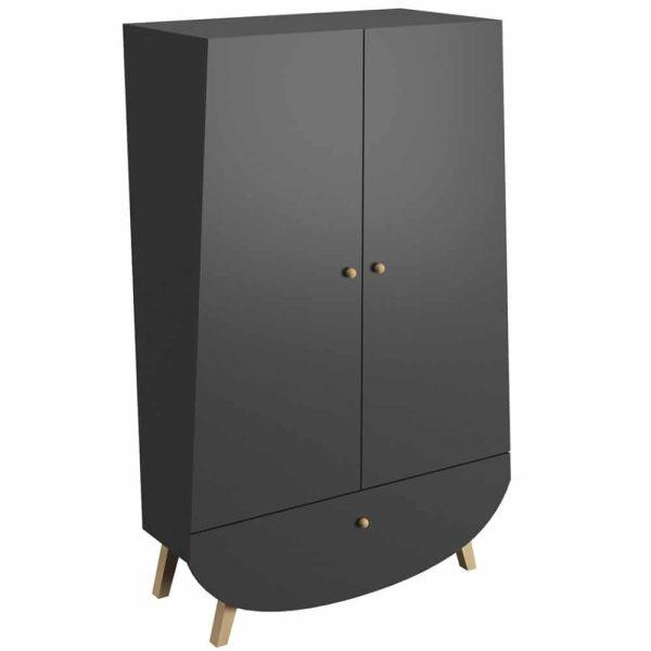armoire 2 portes 1 tiroir trapèze (12)